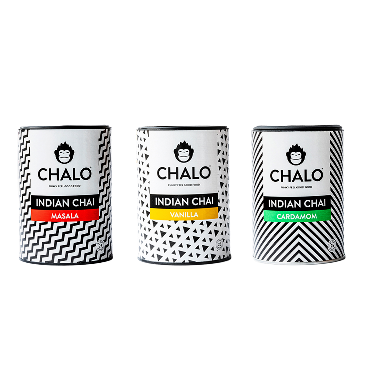 Chai latte 3 flavour package