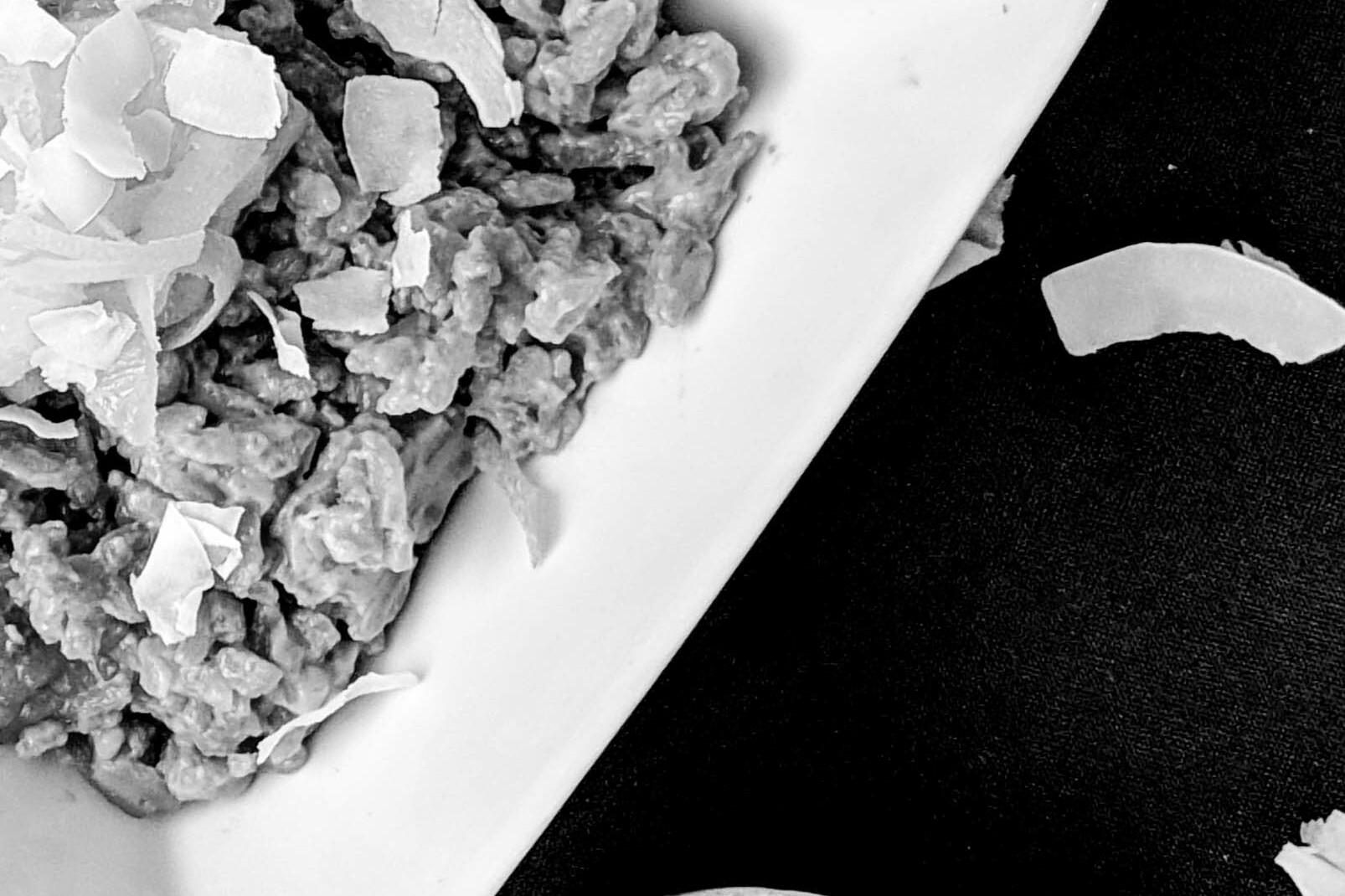 Lemongrass Chai Rice Pudding With Coconut Milk
