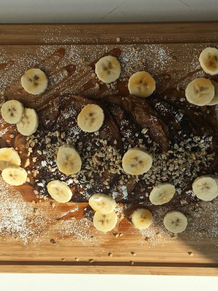 Chalo Chai Banana Pancakes