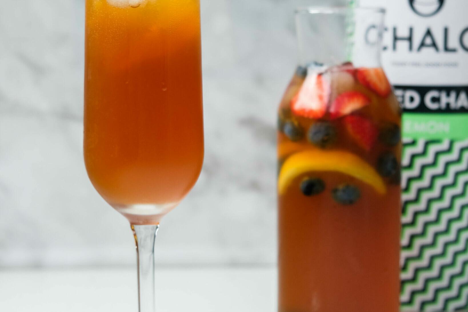 The Chalo Lemon Iced Chai Cocktail
