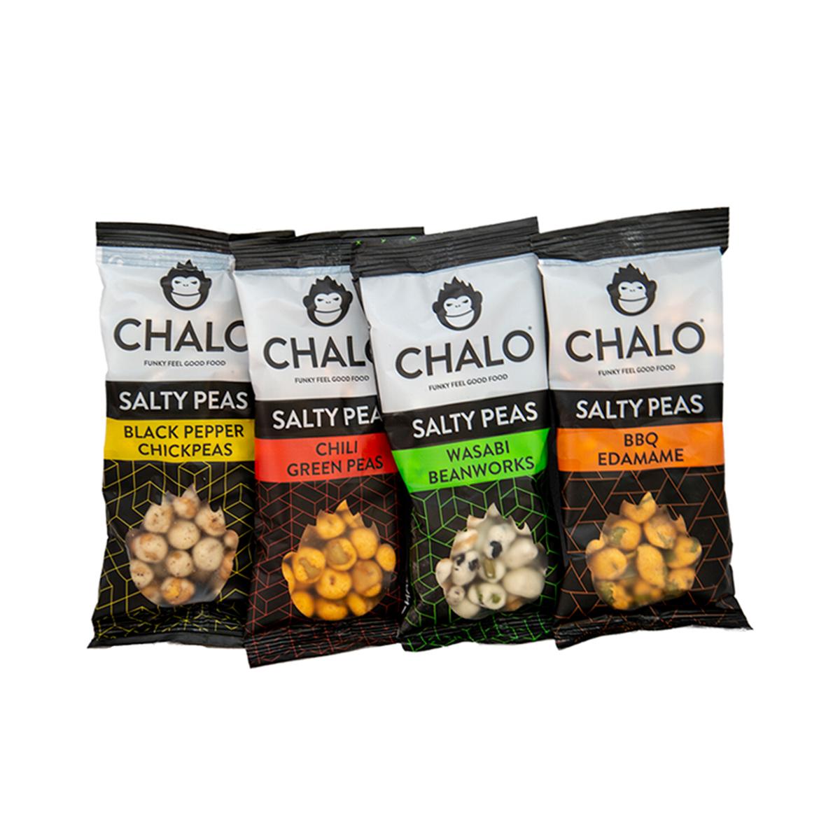 Salty Peas savory snack