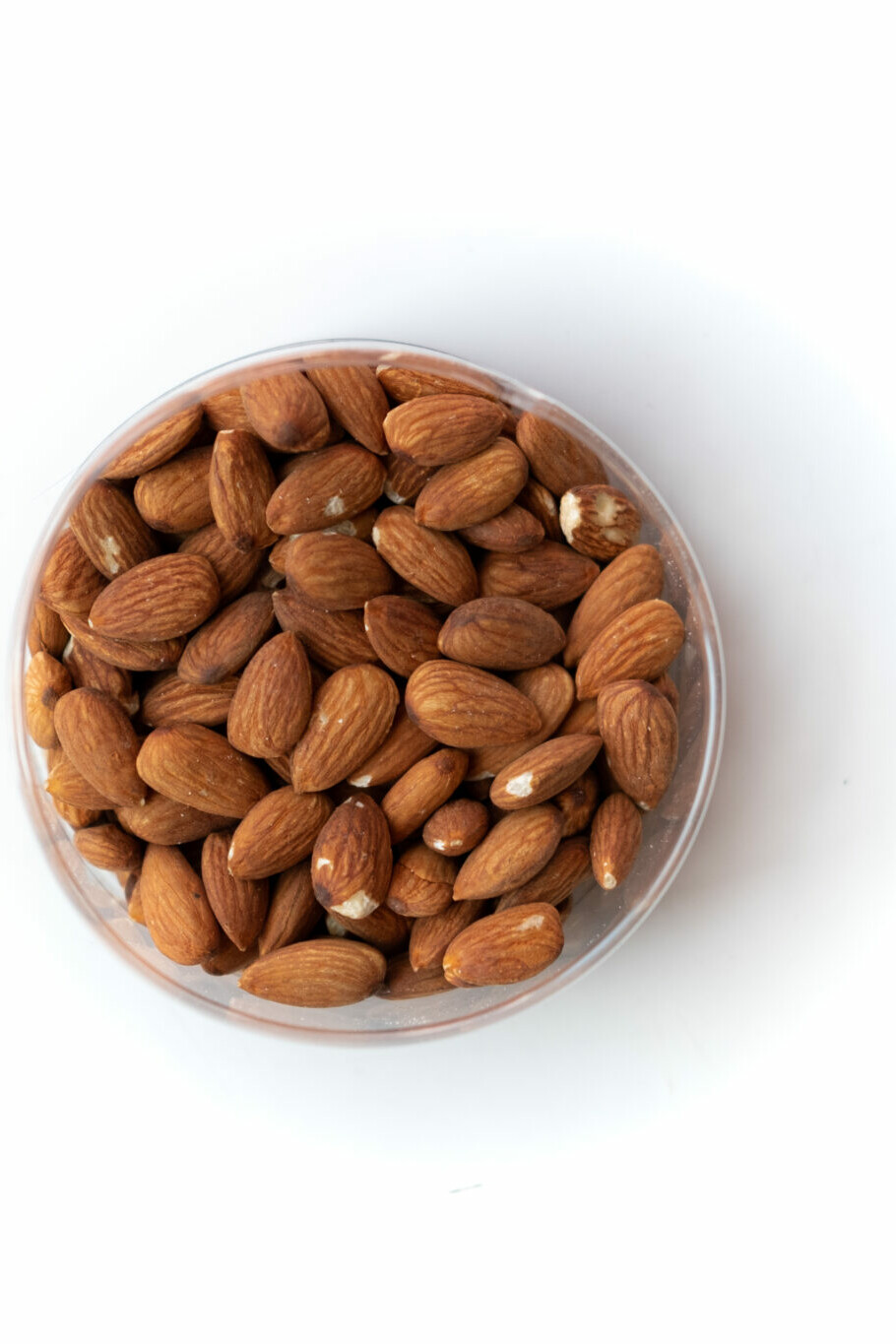 Organic almonds products
