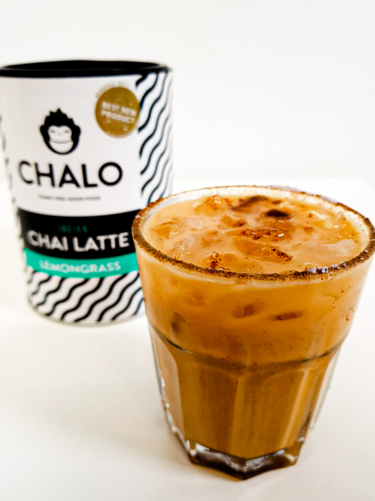 lemongrass chai latte cocktail