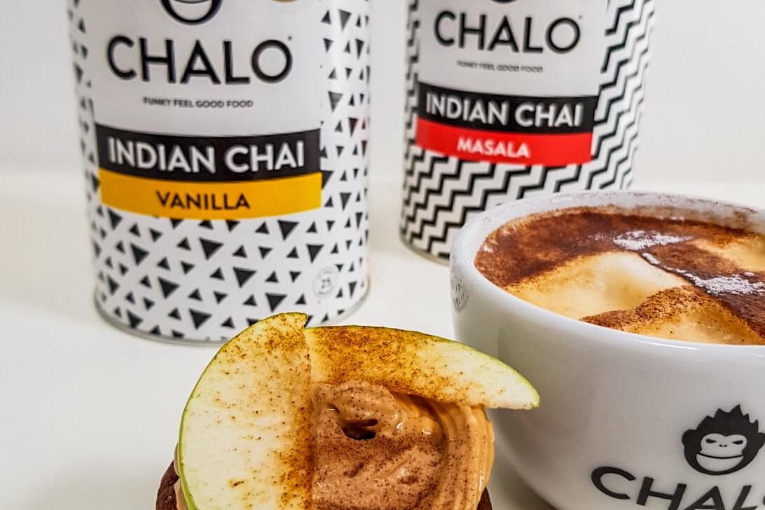 Chalo Chai Apple cupcake