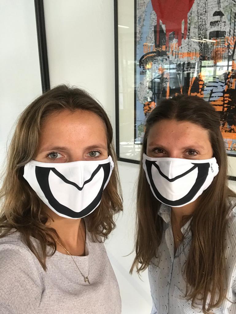 Chalo mouth mask x2
