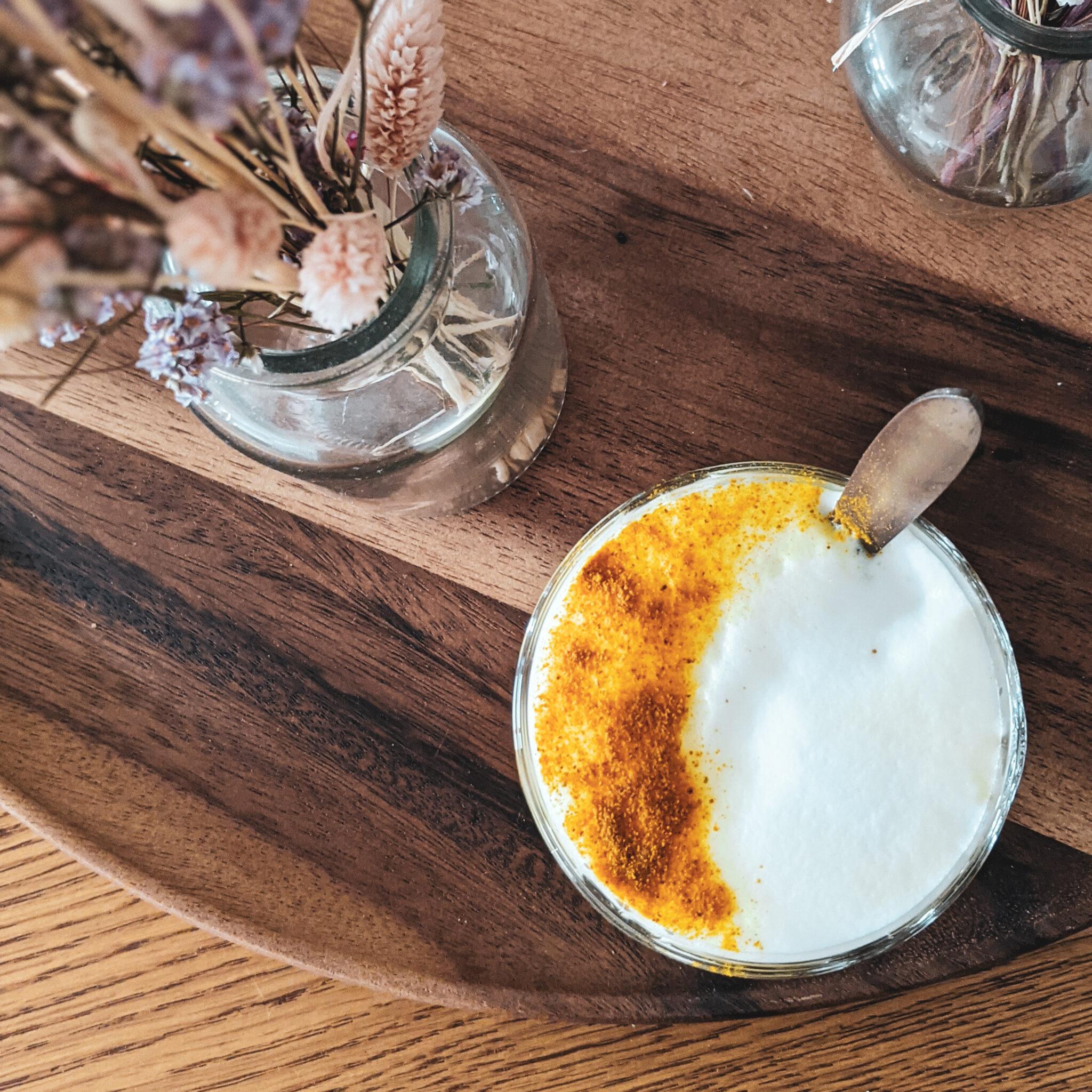 golden turmeric chai